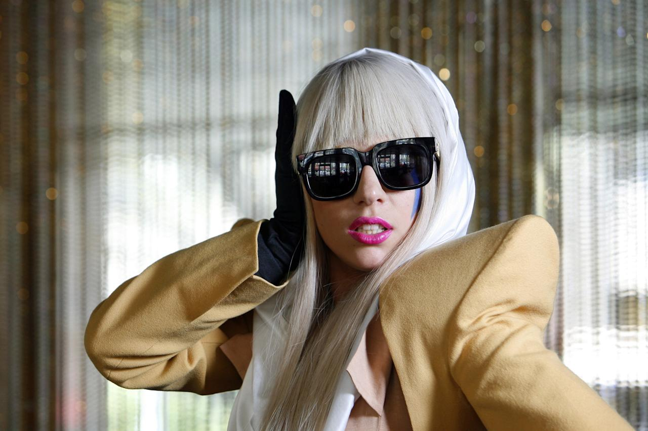 """<p>ICYMI, Gaga's real name is Stefani Joanne Angelina Germanotta. She was recommended by a talent scout to producer Rob Fusari and he <a rel=""""nofollow"""" href=""""https://mic.com/articles/167739/where-did-lady-gaga-get-her-stage-name-from-how-stefani-germanotta-became-a-pop-star?mbid=synd_yahooentertainment"""">claims</a> that her stage name was inspired by the Queen song, """"Radio Ga Ga."""" He said that whenever Stefani (at the time) would enter the studio, Rob would automatically start singing the song, which resulted into him repeatedly referring to her as the song title. And like true friends, he also began referring to her as Radio Gaga in their text messages. but thanks to an autocorrect, the """"radio"""" was changed to """"lady"""" on his phone and since then, Gaga never wanted to be called anything else.</p>"""