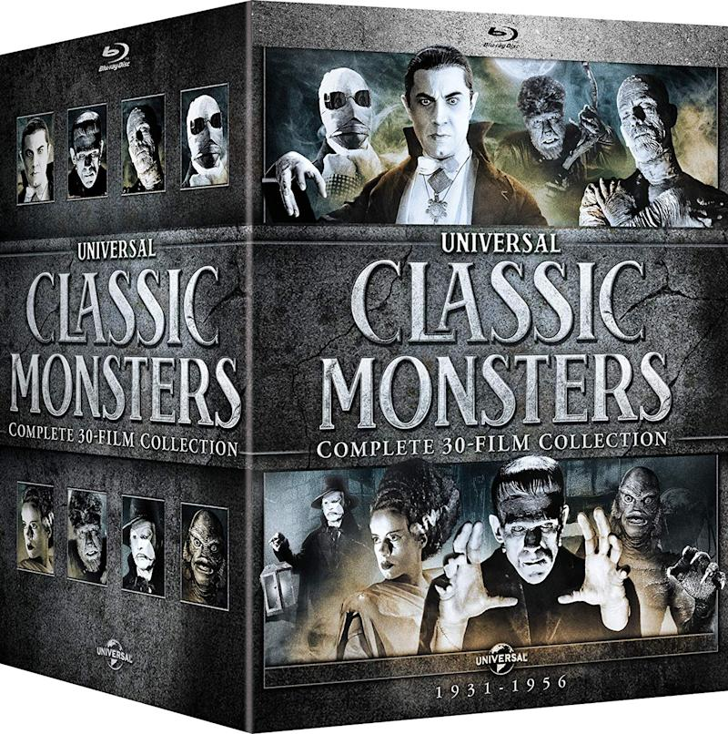 Universal Classic Monsters: Complete 30-Film Collection. (Photo: Amazon)
