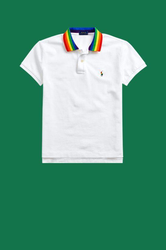 """<p><strong>Ralph Lauren</strong></p><p>ralphlauren.com</p><p><strong>$98.00</strong></p><p><a href=""""https://go.redirectingat.com?id=74968X1596630&url=https%3A%2F%2Fwww.ralphlauren.com%2Fhidden%2Fpride-polo-shirt%2F532665.html&sref=https%3A%2F%2Fwww.goodhousekeeping.com%2Fclothing%2Fg32934454%2Fpride-clothing-apparel-accessories%2F"""" rel=""""nofollow noopener"""" target=""""_blank"""" data-ylk=""""slk:Shop Now"""" class=""""link rapid-noclick-resp"""">Shop Now</a></p><p>If the super-cool rainbow collar isn't enough to make you add this polo shirt to your wishlist, Ralph Lauren is also donating 100% of the purchase to LGBTQ organization <strong><a href=""""https://www.stonewallfoundation.org/"""" rel=""""nofollow noopener"""" target=""""_blank"""" data-ylk=""""slk:Stonewall Community Foundation"""" class=""""link rapid-noclick-resp"""">Stonewall Community Foundation</a></strong>. (Plus, you can totally get a <a href=""""https://go.redirectingat.com?id=74968X1596630&url=https%3A%2F%2Fwww.ralphlauren.com%2Fhidden%2Fpride-dog-polo-shirt%2F549175.html%3Fdwvar549175_colorname%3DWhite%26ab%3Den_US_MultiFP_Pride_Slot_Slot_14_S5_Image_SHOP&sref=https%3A%2F%2Fwww.goodhousekeeping.com%2Fclothing%2Fg32934454%2Fpride-clothing-apparel-accessories%2F"""" rel=""""nofollow noopener"""" target=""""_blank"""" data-ylk=""""slk:matching polo shirt for your dog"""" class=""""link rapid-noclick-resp"""">matching polo shirt for your dog</a>, too, as well as other great items from the gender-neutral <a href=""""https://go.redirectingat.com?id=74968X1596630&url=https%3A%2F%2Fwww.ralphlauren.com%2Fpride-shop-all-cg%3Fpkwid%3DBrand_Google_RLE_BR_US_X_Features_Exact_X_ralph%2Blauren%2Bpride%2Bcollection%26gclid%3DEAIaIQobChMIm9Pxrp6Y6gIVB77ACh0ECwGjEAAYASAAEgJDP_D_BwE%26gclsrc%3Daw.ds&sref=https%3A%2F%2Fwww.goodhousekeeping.com%2Fclothing%2Fg32934454%2Fpride-clothing-apparel-accessories%2F"""" rel=""""nofollow noopener"""" target=""""_blank"""" data-ylk=""""slk:Pride collection"""" class=""""link rapid-noclick-resp"""">Pride collection</a>!)</p>"""