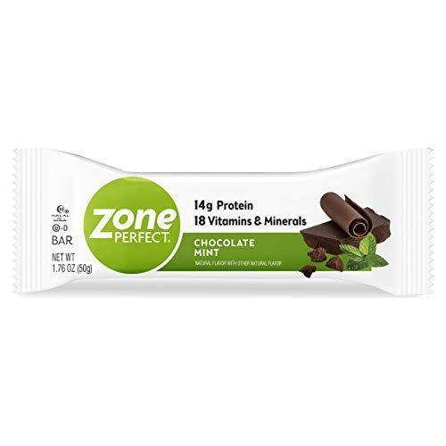 """<p><strong>Zone Perfect</strong></p><p>amazon.com</p><p><strong>$19.96</strong></p><p><a href=""""https://www.amazon.com/dp/B07BWP8JFD?tag=syn-yahoo-20&ascsubtag=%5Bartid%7C2139.g.36650631%5Bsrc%7Cyahoo-us"""" rel=""""nofollow noopener"""" target=""""_blank"""" data-ylk=""""slk:Shop Now"""" class=""""link rapid-noclick-resp"""">Shop Now</a></p><p>Bede helped to develop this bar. """"I feel good about the amount of sugar alcohols we didn't put in there,"""" Bede says. Sugar alcohols can contribute to the total carbohydrates in a bar. The Zone Perfect bars range from 10 to 15 grams of protein and 6 grams of fat. It has a number of flavors including strawberry yogurt, fudge graham, and chocolate almond raisin.</p>"""