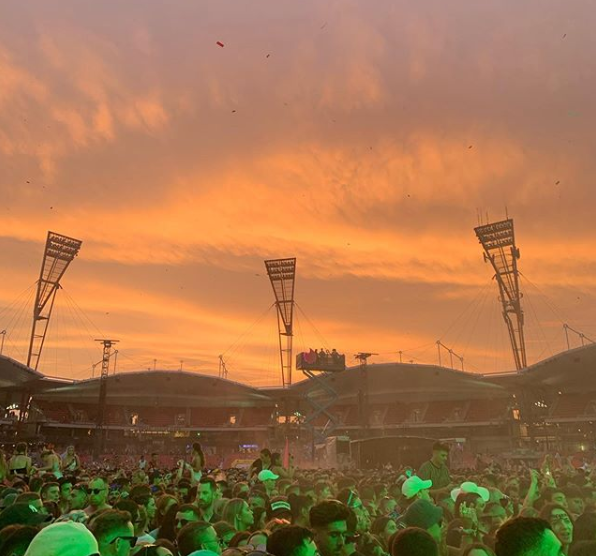 Festival X at Sydney Olympic Park shown amid drug related arrests and a death at Strawberry Fields festival in NSW.