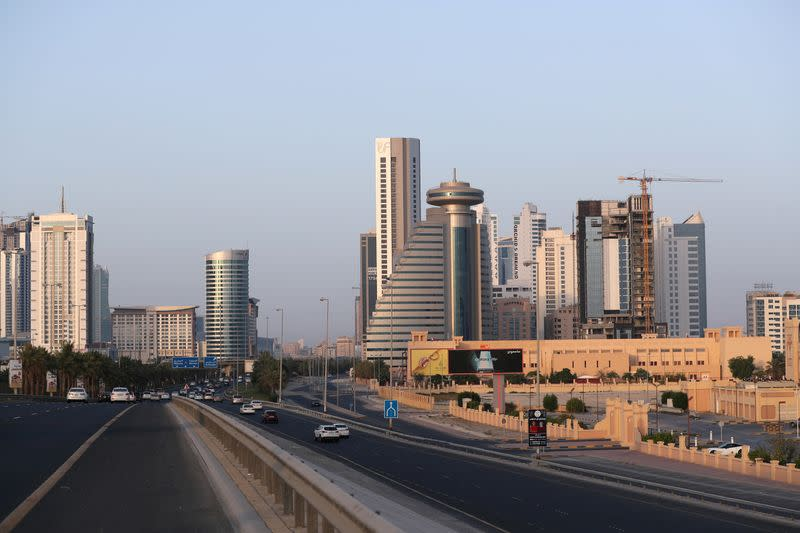 FILE PHOTO: General view of Bahrain Seef district in Manama