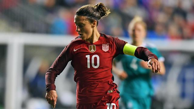 The World Player of the Year is back in Jill Ellis' squad after missing two matches in September with an ankle injury