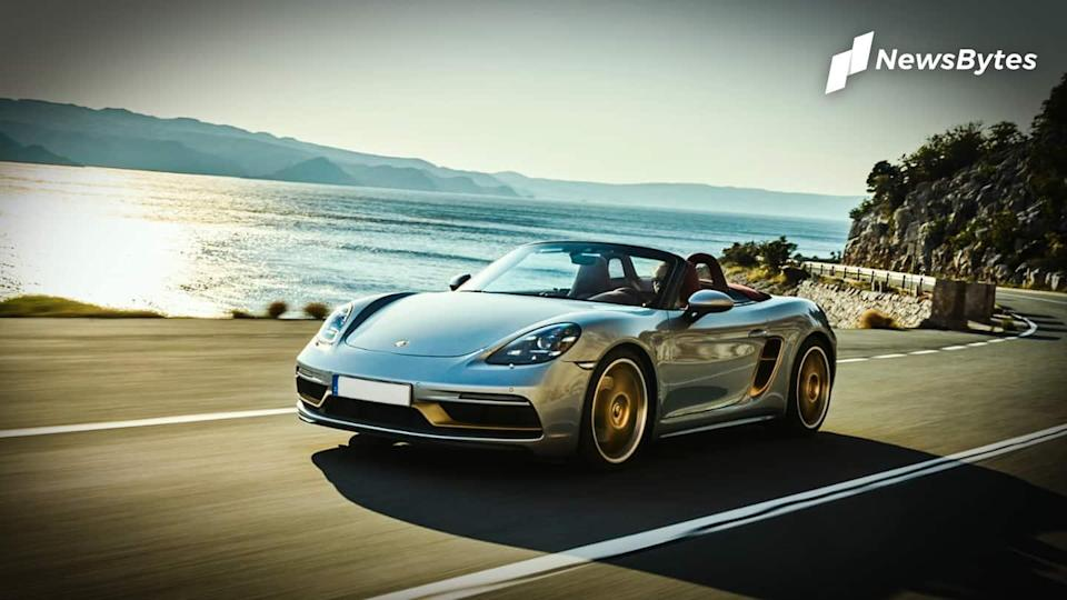 Porsche Boxster 25 Years edition with 4-liter flat-six engine launched