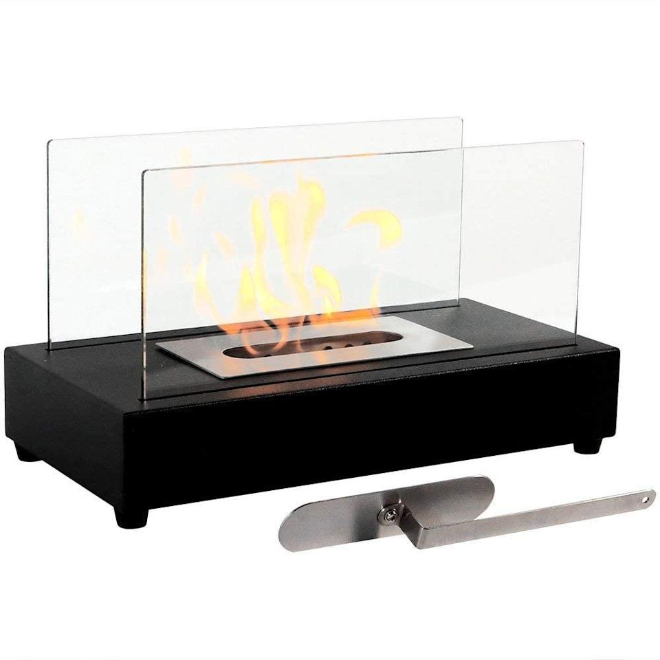 <p>This <span>Regal Flame Utopia Ventless Indoor Outdoor Fire Pit</span> ($56, originally $60) is small enough to put on a coffee table.</p>