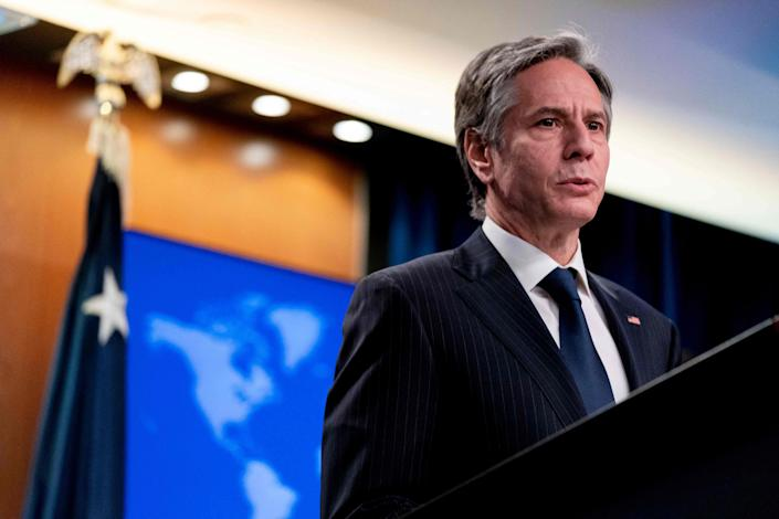 Secretary of State Antony Blinken sent a diplomat to try to calm the conflict between Israel and the Palestinians.