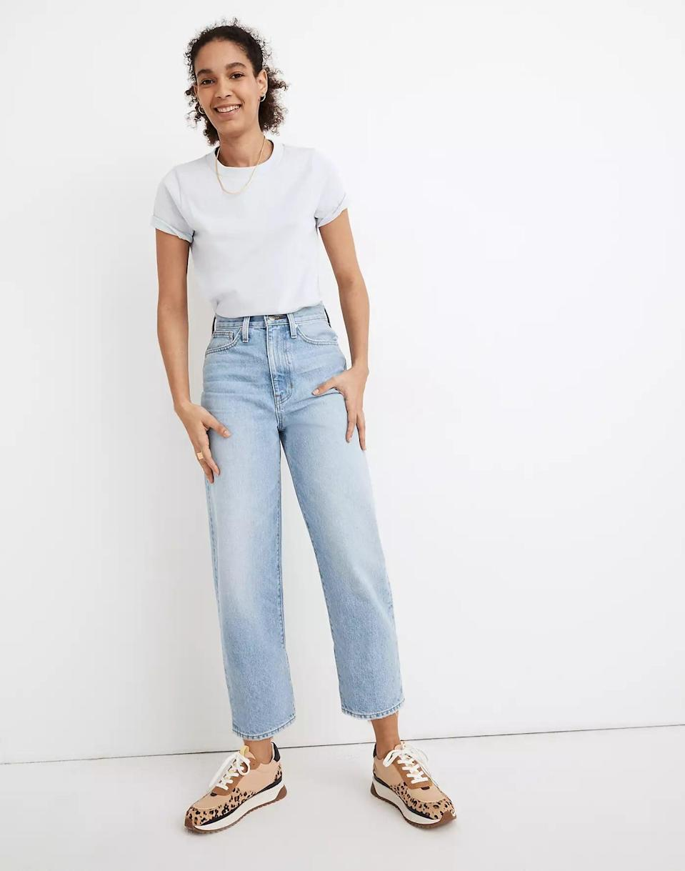 <p><span>Balloon Jeans in Datewood Wash</span> ($118)</p>