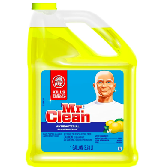 Mr. Clean Multi-Surfaces Summer Citrus Antibacterial Liquid Cleaner. (Photo: Amazon)