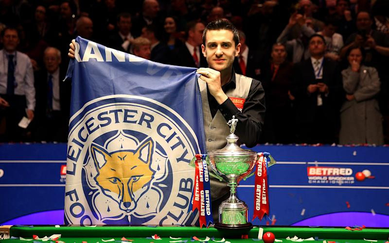 Mark Selby - Credit: rex