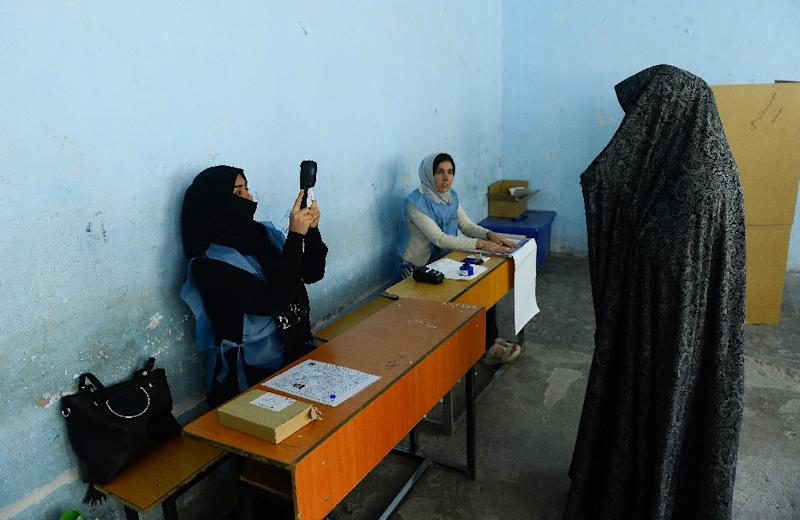 Problems with biometric verification devices that were being used for the first time were among a litany of setbacks during the election (AFP Photo/HOSHANG HASHIMI)