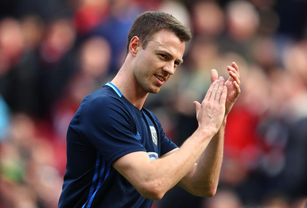 West Brom Fan View: Jonny Evans loss would be a blow - but every player has a price