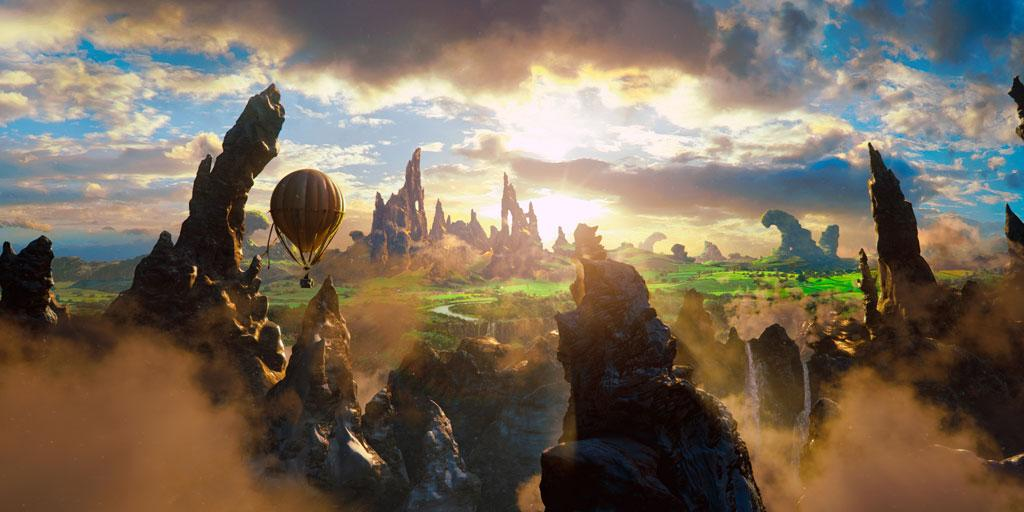"""Walt Disney Pictures' """"Oz The Great of Powerful"""" - 2013"""