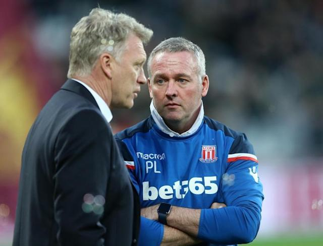 David Moyes and Paul Lambert both happy with their side's performances after draw at London Stadium