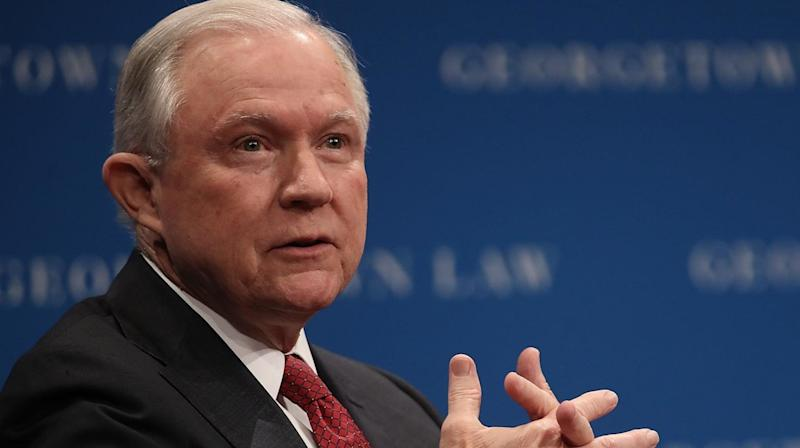 Protesters Exercising Free Speech Barred From Sessions' Lecture On Free Speech