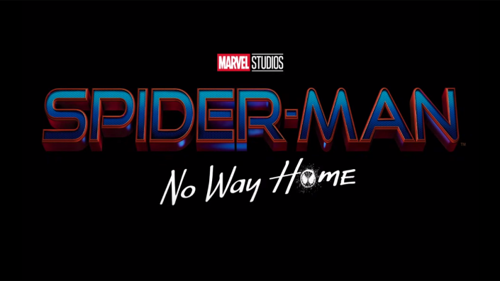 Spider-Man: No Way Home title card.