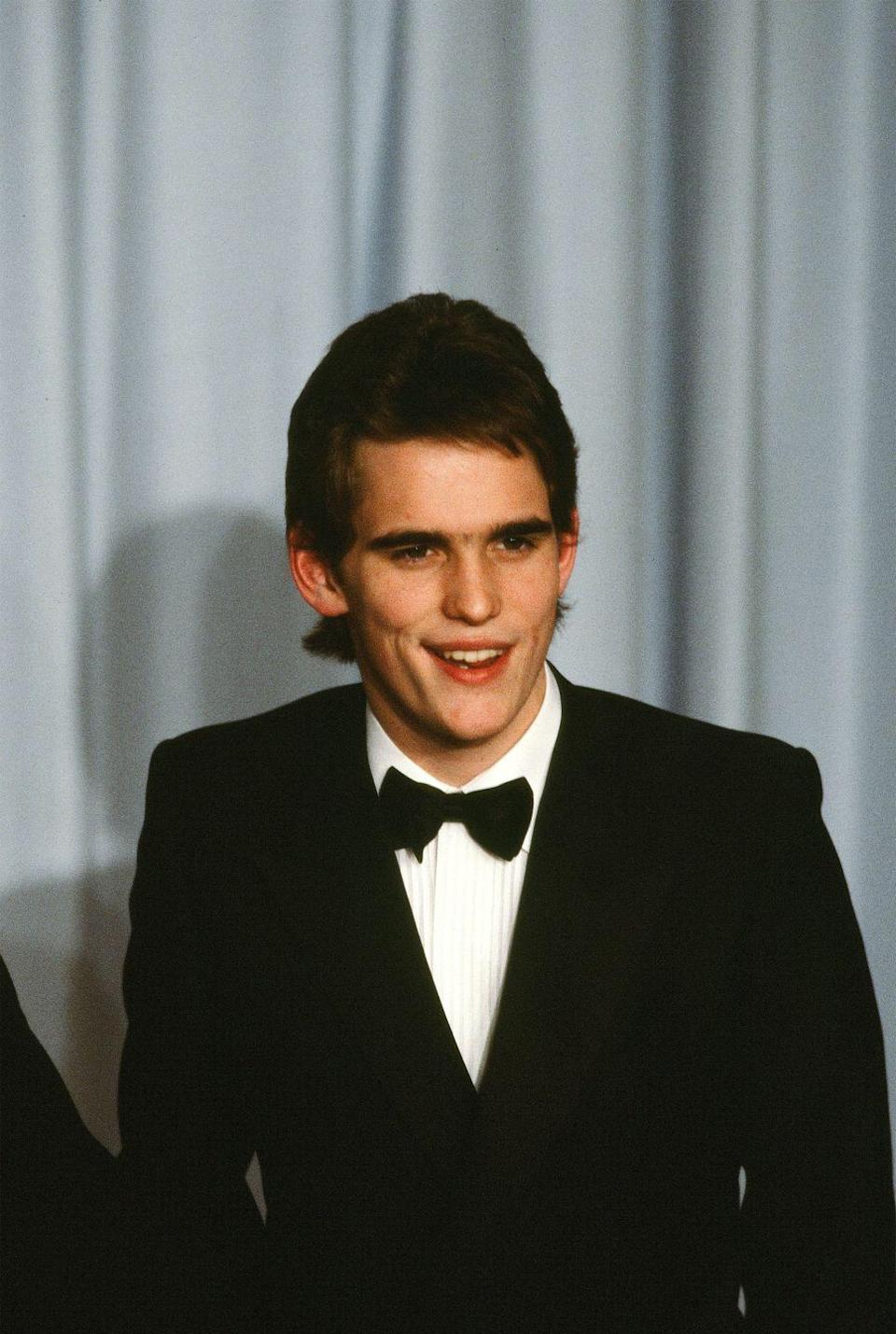 <p>Matt Dillon starred in a few films in the '80s, which launched his career as a teen idol. Lest you forget, he was a lead in <em>My Bodyguard</em>, <em>Little Darlings</em>, <em>Tex</em>, and, of course, <em>The Outsiders</em>. </p>