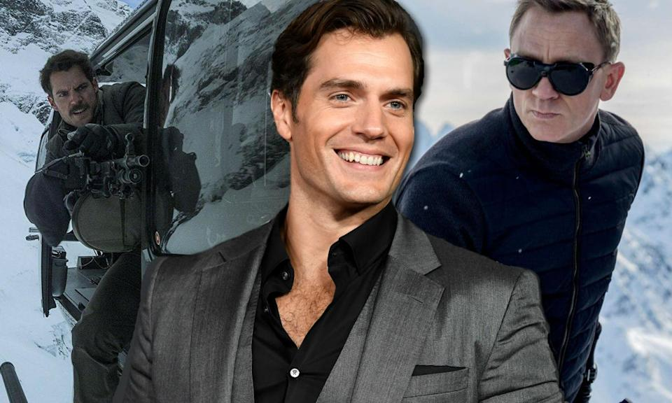 Henry Cavill wants Bond role and thinks 'Mission: Impossible' could help him get it