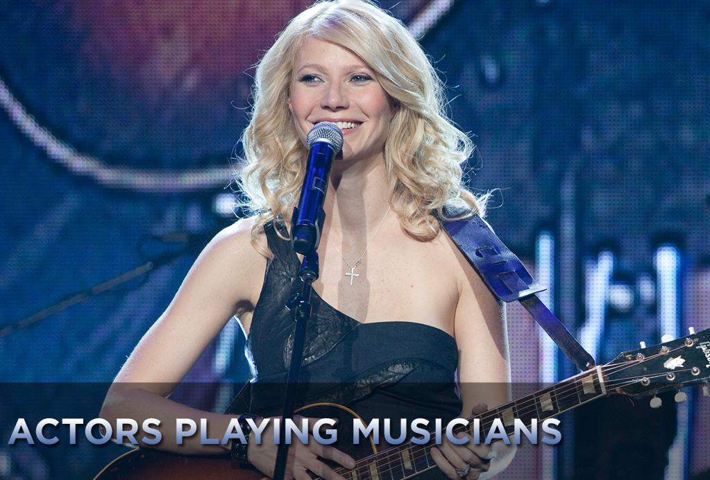 """Gwyneth Paltrow, who plays a struggling country superstar in her latest movie """"<a href=""""http://movies.yahoo.com/movie/1810133348/info"""">Country Strong</a>,"""" surprised just about everyone by proving not only she can act (and has the Oscar to boot) but that she can also sing. We've put together a gallery of some other actors who also played musicians for the silver screen."""