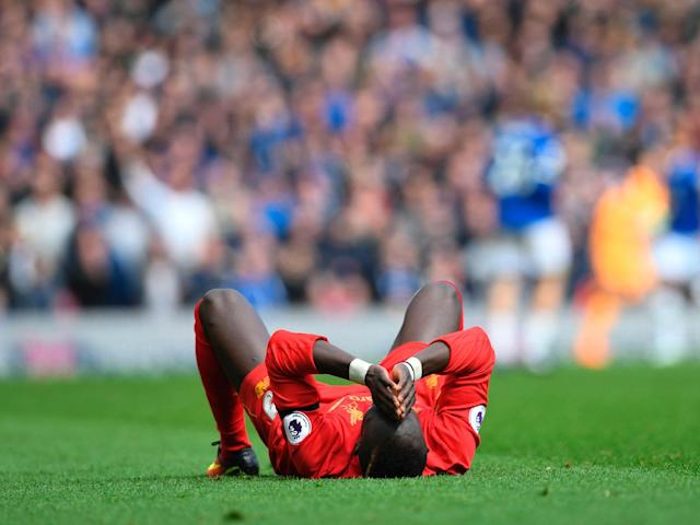 Sadio Mane suffered an injury during the second half: Getty