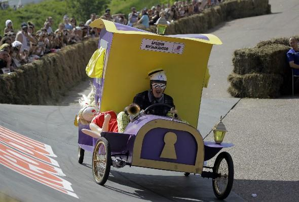 Red Bull Soapbox returns to London