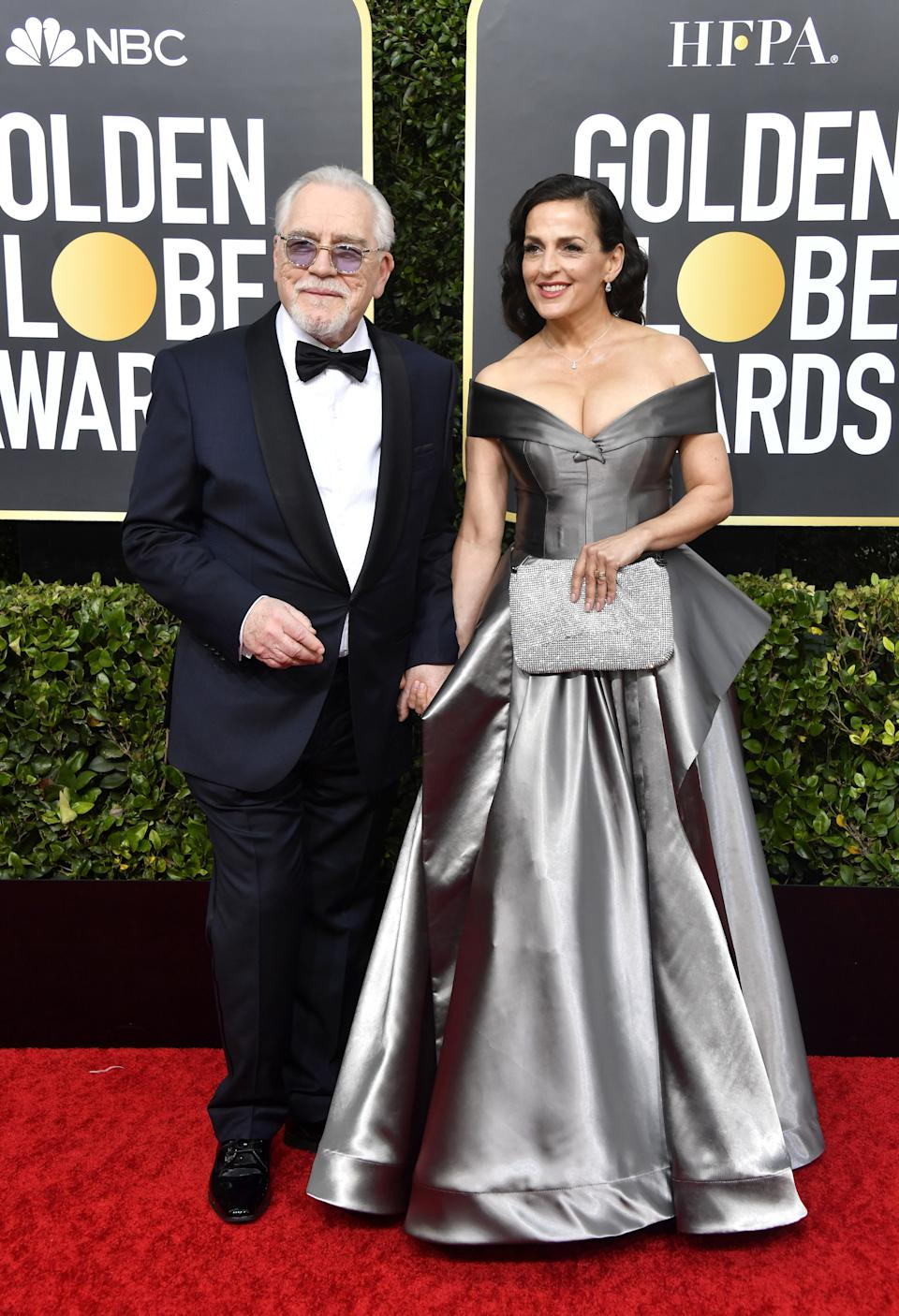 "<h1 class=""title"">Brian Cox and Nicole Ansari-Cox</h1><cite class=""credit"">Photo: Getty Images</cite>"