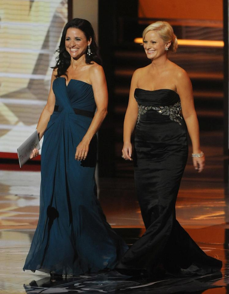 Julia Louis-Dreyfus & Amy Poehler graced us with a joint appearance. Need we say more?