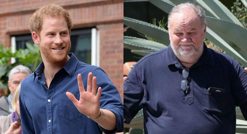 Prince Harry and Thomas Markle have never met in person. [Photo: Getty/ABC]