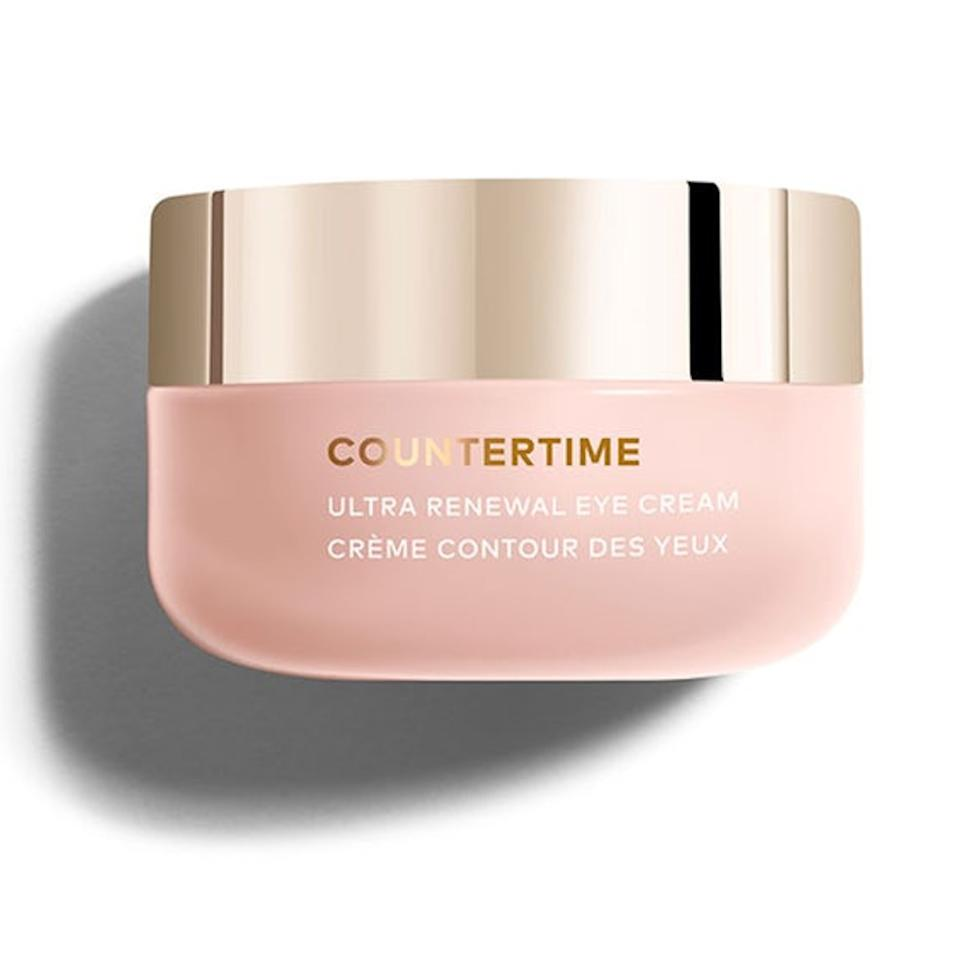 "<p>Beautycounter's new <a href=""https://www.beautycounter.com/product/countertime-ultra-renewal-eye-cream"" rel=""nofollow"">Countertime</a> range is made up of six new hydrating products, of all which come together to create a brand-new skin-care regimen. If you're not quite ready to toss out your entire routine, start by picking up this eye cream. It's meant to brighten and smooth the delicate skin both under and around the eye, and if you're into packaging, it'll look damn good on your skin-care shelf.</p> <p>$69 (<a href=""https://www.beautycounter.com/product/countertime-ultra-renewal-eye-cream"" rel=""nofollow"">Shop Now</a>)</p>"