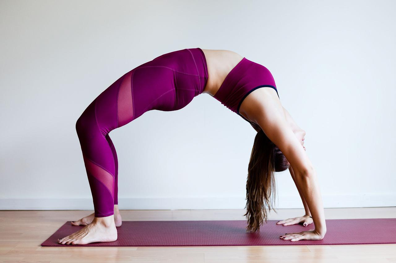 """<p>Many write off yoga as an """"easy"""" workout. After all, stretching might put you into a relaxing, <a href=""""https://www.prevention.com/health/a22679621/health-benefits-of-meditation/"""" target=""""_blank"""">meditative mindset</a>, but it's not exactly going to get your heart rate up-or is it? The truth may surprise you.</p><p>""""Yoga is equal parts strength, flexibility, balance, and endurance,"""" says <a href=""""http://mandyingber.com/"""" target=""""_blank"""">Mandy Ingber</a>, celebrity yoga instructor, author of <a href=""""http://amzn.to/2cuolIN"""" target=""""_blank""""><em>Yogalosophy for Inner Strength</em></a>. She estimates that yoga can torch anywhere from 180 to 600 calories per hour, noting that there's a large range because there are so many different <a href=""""https://www.prevention.com/fitness/workouts/a23931085/types-of-yoga/"""" target=""""_blank"""">types of yoga</a> that vary from constant movement to a slower, more restorative pace.  </p><p>While you'll generally get your heart rate up more in a Bikram or Vinyasa than you would in a restorative one, the specific yoga poses that you (or your instructor) select matter a lot, too. </p><p>Want to take your yoga game to the next level? Make sure these seven poses are a regular part of your practice.</p><p><em>[Looking to start cross training but don't know where to start? <a href=""""https://order.hearstproducts.com/subscribe/hstproducts/237052"""">The Beginner's Guide to Strength Training</a> will teach you all the fundamentals to get the most out of your weight session, priming you for stronger miles in the saddle.] </em></p>"""