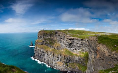 The Cliffs of Moher - Credit: iStock