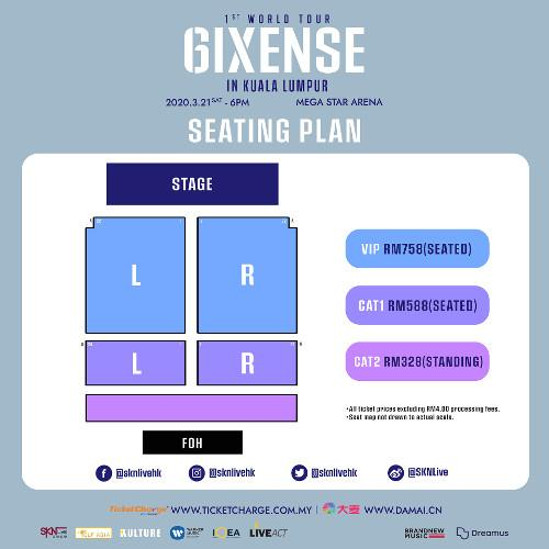 Pick the best seats to see AB6IX live!