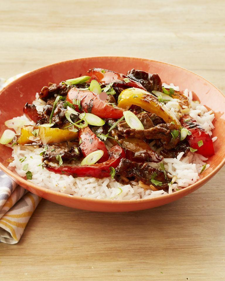 """<p>Looking for a great steak sauce for stir-fry? Marinate thin slices of sirloin in a mixture of hoisin sauce, soy sauce, brown sugar, vinegar, ginger, Sriracha, garlic, and cornstarch. </p><p><strong><a href=""""https://www.thepioneerwoman.com/food-cooking/recipes/a32394195/hoisin-steak-and-pepper-stir-fry-recipe/"""" rel=""""nofollow noopener"""" target=""""_blank"""" data-ylk=""""slk:Get Ree's recipe."""" class=""""link rapid-noclick-resp"""">Get Ree's recipe.</a> </strong></p><p><a class=""""link rapid-noclick-resp"""" href=""""https://go.redirectingat.com?id=74968X1596630&url=https%3A%2F%2Fwww.walmart.com%2Fbrowse%2Fhome%2Fmixing-bowls%2F4044_623679_133020_4496646_2514018%3Fpovid%3D4044%2B%257C%2B%2B%257C%2BMixingBowlsNavBar&sref=https%3A%2F%2Fwww.thepioneerwoman.com%2Ffood-cooking%2Frecipes%2Fg36383850%2Fsteak-sauce-recipes%2F"""" rel=""""nofollow noopener"""" target=""""_blank"""" data-ylk=""""slk:SHOP MIXING BOWLS"""">SHOP MIXING BOWLS</a></p>"""