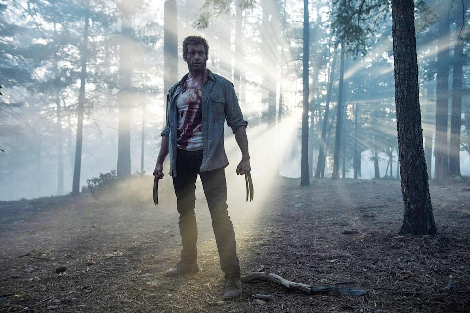 Hugh Jackman says goodbye to Wolverine in 'Logan' (Photo: Ben Rothstein/TM & copyright © 20th Century Fox Film Corp. All rights reserved./courtesy Everett Collection)