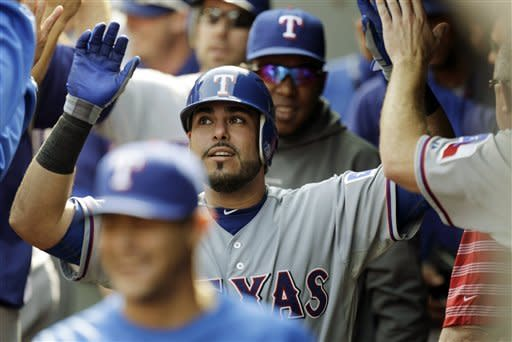 Napoli, Soto HRs lift Texas to 3-2 win