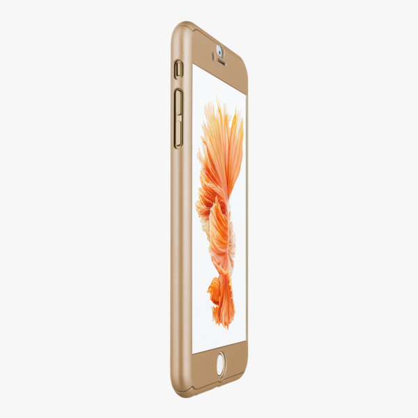 "<p>Wish you upgraded to the gold iPhone? Not to worry. Phantom Glass has created a 360 degree case that not only transforms the colour of your phone – in the most minimal way – but also protects it from scratches. <i>($60 via <a href=""http://facebyphantom.glass/collections/color/products/color-gold"" rel=""nofollow noopener"" target=""_blank"" data-ylk=""slk:Face by Phantom Glass"" class=""link rapid-noclick-resp"">Face by Phantom Glass</a>)</i></p>"