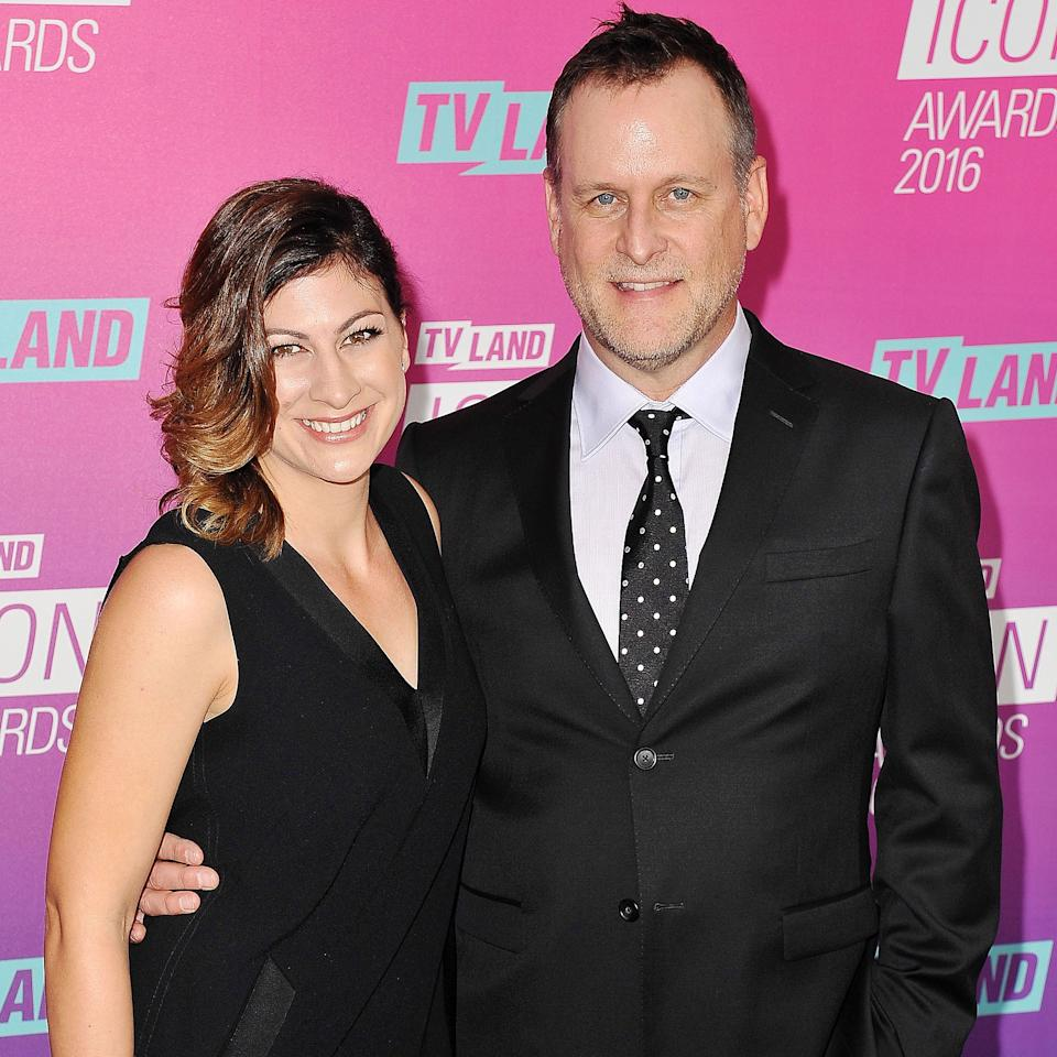 "<p>Coulier, 58, <a rel=""nofollow"" href=""http://people.com/celebrity/full-houses-dave-coulier-is-engaged-to-melissa-bring/"">married Los Angeles-based photographer and producer Bring, 34,</a> in a 2014 ceremony that was attended by his <i>Full House</i> costars. ""Melissa has been, truly, my best friend for nine years,"" Coulier told PEOPLE in announcing their engagement. ""We simply thought we would just make it a lifetime. I can't wait."" Coulier is dad to Luc, his adult son from a previous marriage to Jayne Modean.</p>"