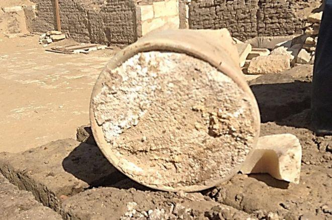 Old cheese: The archaeological find: University of Catania and Cairo University