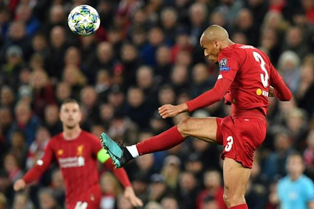 Powerful presence: Fabinho has become Liverpool's key midfielder (AFP Photo/Paul ELLIS)
