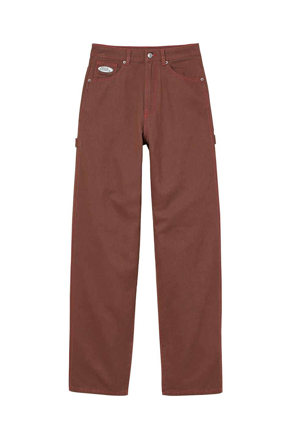 <p>These <span>No Fear x H&amp;M Wide-leg Twill Pants</span> ($25) are exactly what we want to wear this fall. We like them with a white t-shirt and cool jacket.</p>