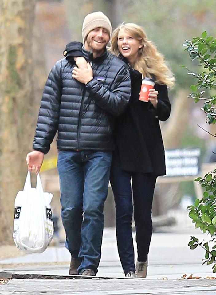 """""""They've only been dating for eight weeks, but Jake Gyllenhaal has already asked Taylor Swift to move in!"""" reports <i>In Touch</i>. In fact, the magazine says that Gyllenhaal wants Swift to """"help him hunt for a home the couple can share in LA."""" Adds <i>In Touch</i>, """"He'd like to buy a house that suits her tastes as well as his."""" Find out how just how quickly the two plan on moving in together at <a href=""""http://www.gossipcop.com/jake-gyllenhaal-taylor-swift-moving-in-together-living-move-shacking-up/"""" target=""""new"""">Gossip Cop</a>. Swarbrick/<a href=""""http://www.infdaily.com"""" target=""""new"""">INFDaily.com</a> - November 25, 2010"""