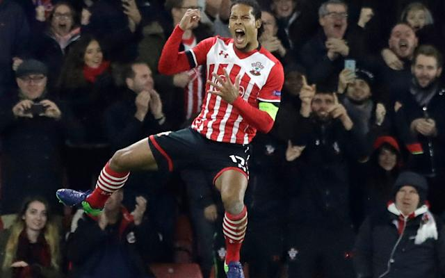 <span>Chelsea are confident they can land Virgil van Dijk from Southampton</span> <span>Credit: AP </span>