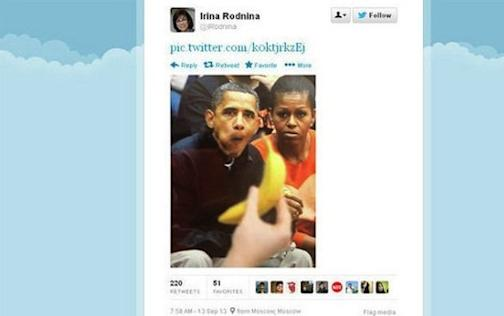 Irina Rodnina's Racist Tweet About President Obama Still Causing Headaches In Sochi image irina rodnina