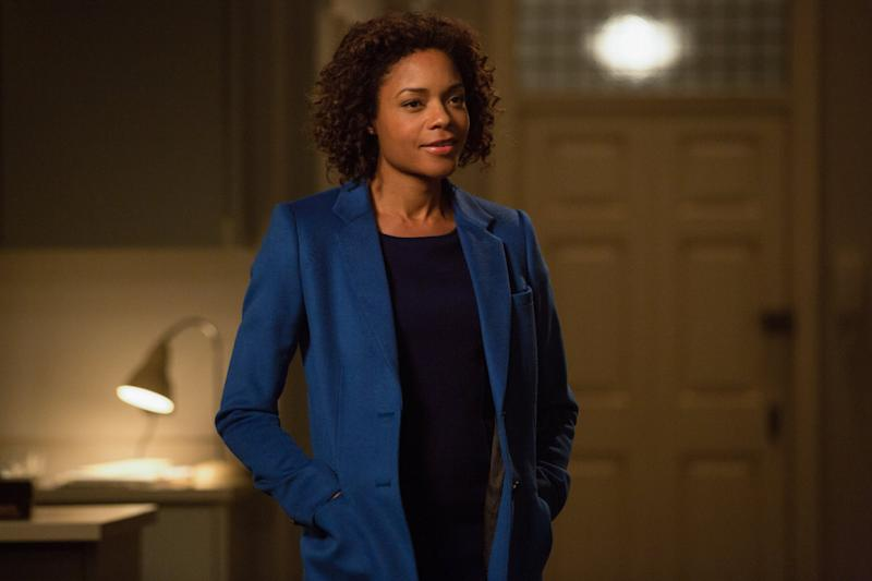 Naomie as Miss Moneypenny in 'SPECTRE' (Credit: EON/Sony Pictures)