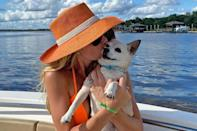 """<p>Former <em>Southern Charm</em> star Cameran Eubanks announced on Jan. 24 that her dog <a href=""""https://people.com/pets/southern-charm-alum-cameran-eubanks-mourns-death-of-dog-elvis/"""" rel=""""nofollow noopener"""" target=""""_blank"""" data-ylk=""""slk:Elvis had died"""" class=""""link rapid-noclick-resp"""">Elvis had died</a>.</p> <p>""""He was a special little guy who brought joy to so many people,"""" <a href=""""https://www.instagram.com/p/CKbkCcaApVQ/"""" rel=""""nofollow noopener"""" target=""""_blank"""" data-ylk=""""slk:she wrote on Instagram of Elvis"""" class=""""link rapid-noclick-resp"""">she wrote on Instagram of Elvis</a>, who was buried """"under a magnolia tree in the country"""" by husband Jason Wimberly. </p> <p>""""I'm sure it will be the most Beautiful tree,"""" she continued. """"The Pastor who married us and Christened <a href=""""https://people.com/parents/southern-charm-cameran-eubanks-baby-photos/"""" rel=""""nofollow noopener"""" target=""""_blank"""" data-ylk=""""slk:Palmer"""" class=""""link rapid-noclick-resp"""">Palmer</a> said some beautiful words. He said God gave us animals and we will be with them again. ❤️""""</p> <p>Eubanks adopted Elvis in August 2019 after his previous owner — a neighbor of the family — moved the North Carolina.</p>"""