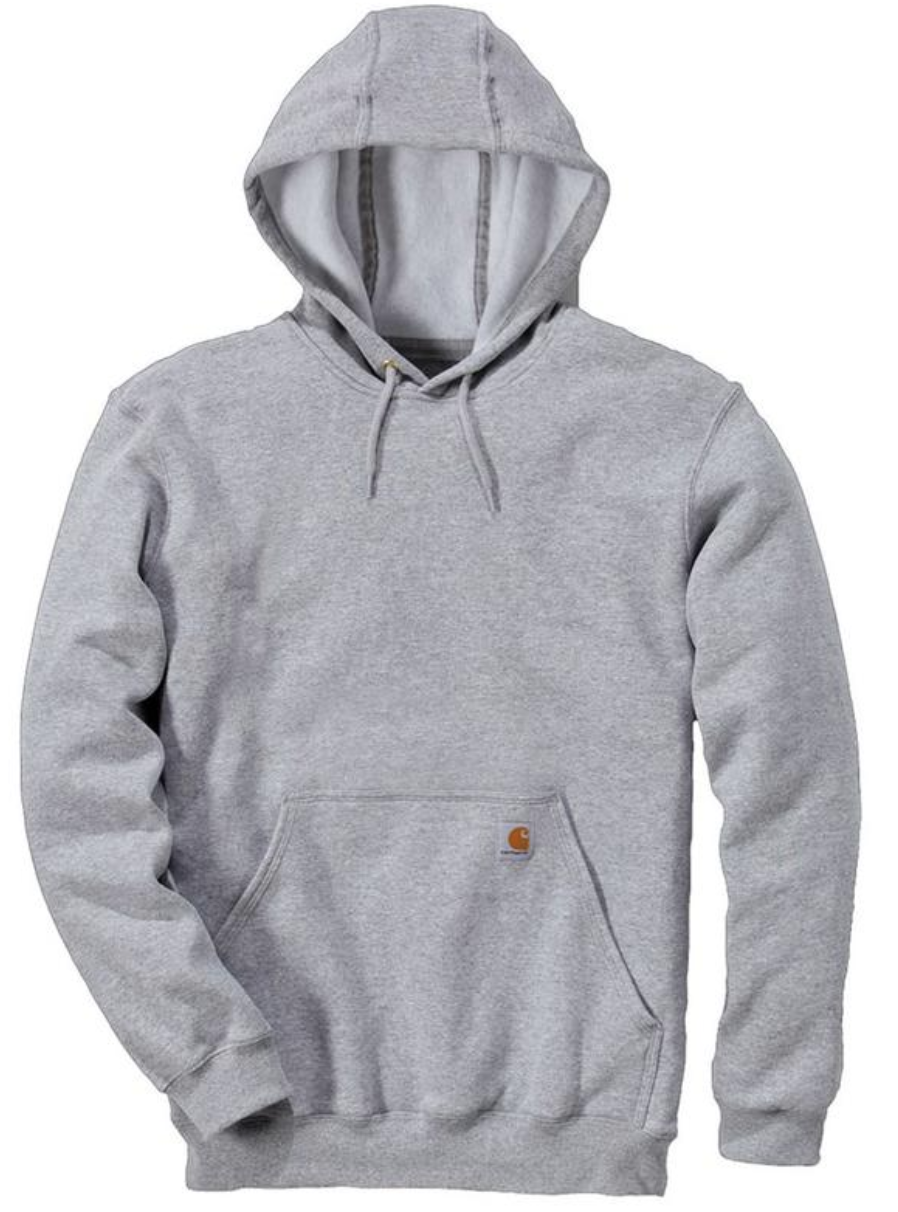 """<p><strong>Carhartt</strong></p><p>amazon.com</p><p><strong>$39.99</strong></p><p><a href=""""https://www.amazon.com/dp/B002VWK6M2?tag=syn-yahoo-20&ascsubtag=%5Bartid%7C10054.g.3357%5Bsrc%7Cyahoo-us"""" rel=""""nofollow noopener"""" target=""""_blank"""" data-ylk=""""slk:Buy"""" class=""""link rapid-noclick-resp"""">Buy</a></p><p>Pro tip: Carhartt makes hoodies more durable than the vast majority of their designer counterparts, and at a fraction of the price. If you're looking for a solid option that'll stand up to pretty much everything you throw at it, start here. </p>"""