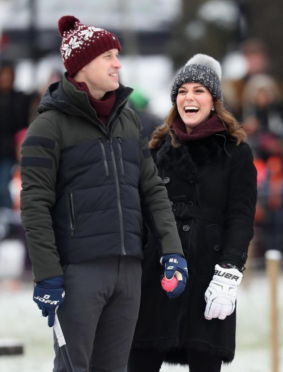 Prince William and Catherine, Duchess of Cambridge, in Stockholm (Chris Jackson/Getty Images)