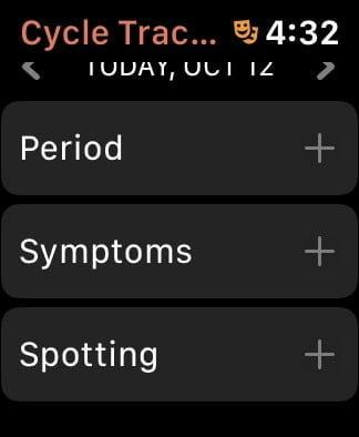 how to track your period with cycle tracker on the apple watch cycle3