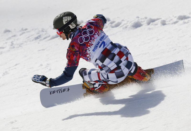 Wild wins parallel slalom to complete sweep