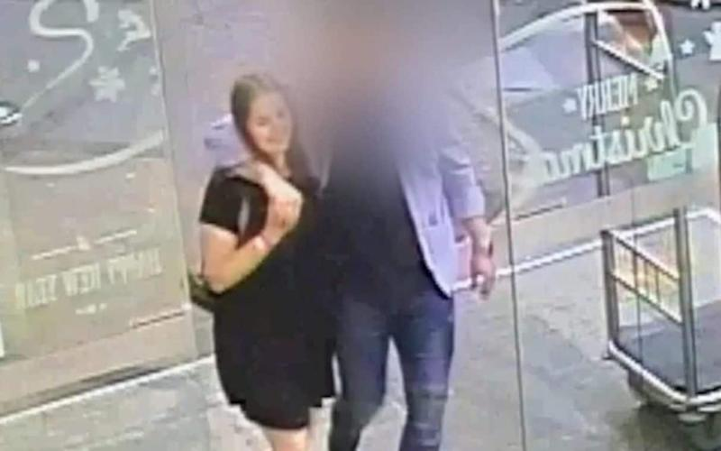 CCTV footage of backpacker Grace Millane with her Tinder date before she died