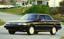 <p>In 1988, Toyota opened a new production facility in Georgetown, Kentucky, to build Camrys for the North American market. Powertrain options also expanded that year. New four-cylinder models were offered with an all-wheel-drive option called All-Trac, which used a center differential to vary torque between the front and rear axles. A 2.5-liter V-6 engine joined the order sheet, serving up 153 horsepower and 155 lb-ft of torque in both the sedan and wagon; it could be paired with either a manual or automatic transmission. Sales continued to rise, cresting the 200,000-per-year mark in the United States for the first time in 1988.</p>